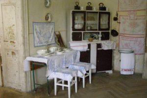 Helytörténeti gyűjtemény - régi konyhai berendezési tárgyak