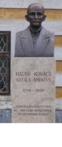 Előszállás - Hagyó-Kovács Gyula szobor