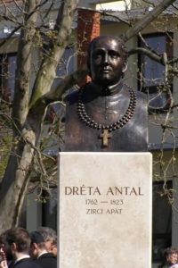 Mezőfalva - Dréta Antal szobor