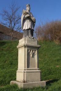 Nepomuki Szent János szobor 1854.