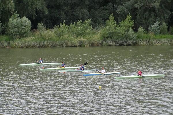 Kajakosok a 2010.évi adonyi Duna-napon